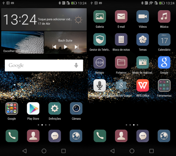Huawei P8 - Interface (1)