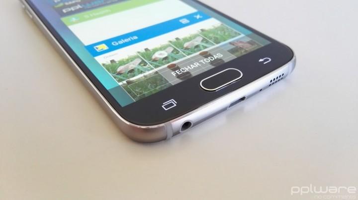 Samsung Galaxy S6 - Botões frontais
