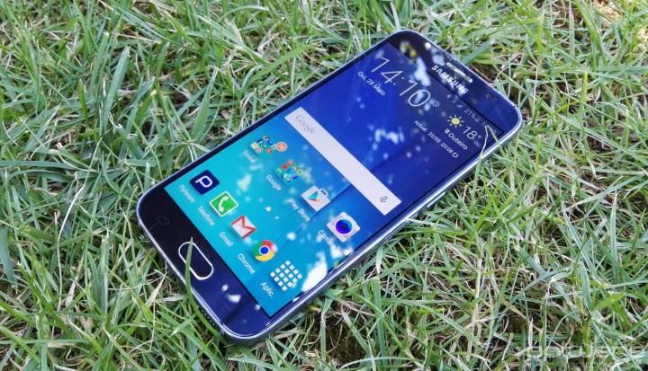 Samsung Galaxy S6 - Ecrã
