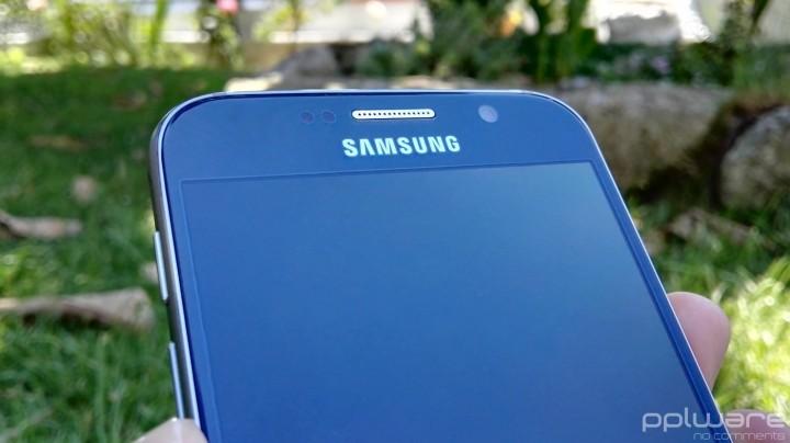 Samsung Galaxy S6 - Sensores frontais