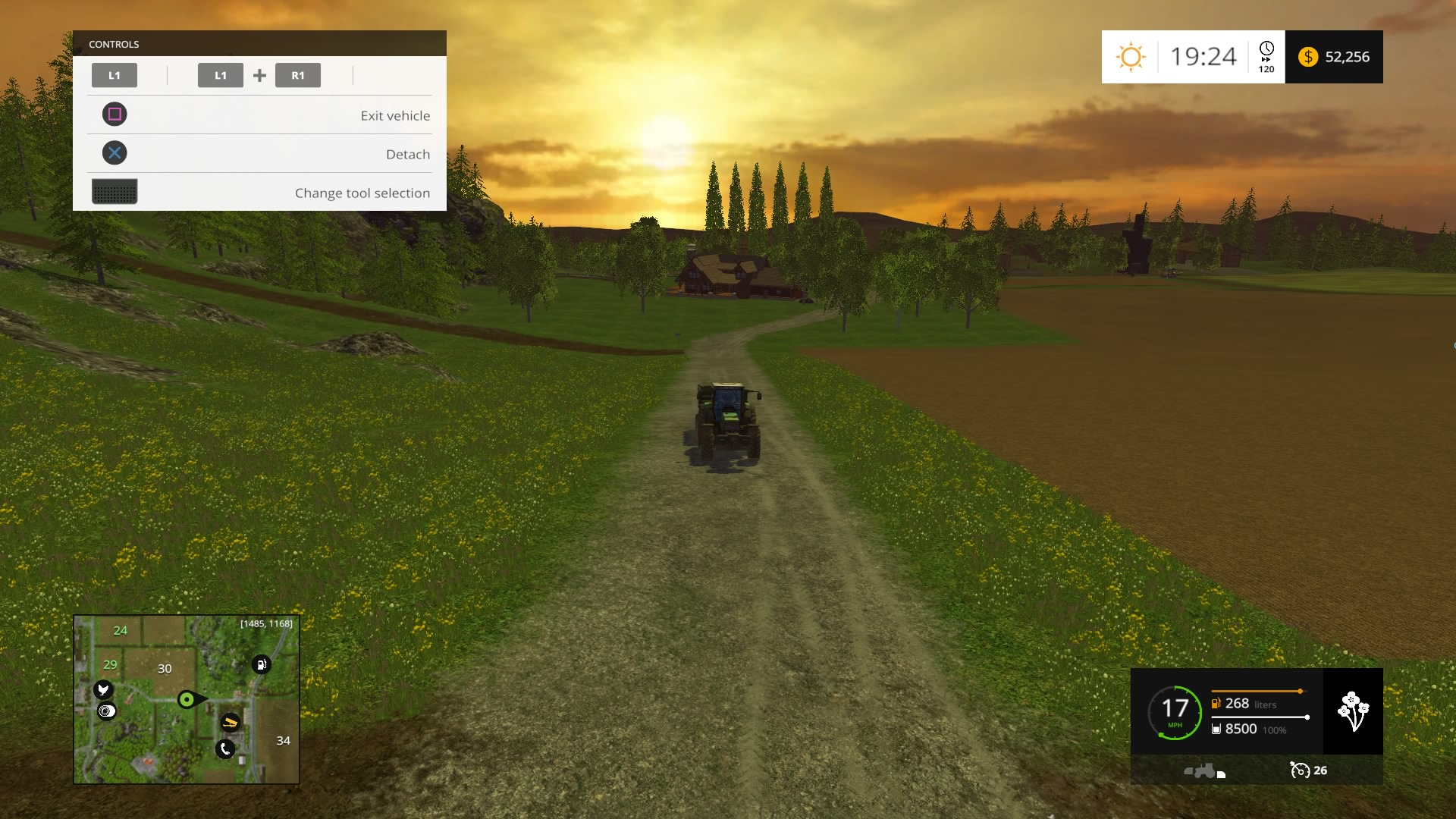 Análise Farming Simulator 15 (Playstation 3) - Pplware