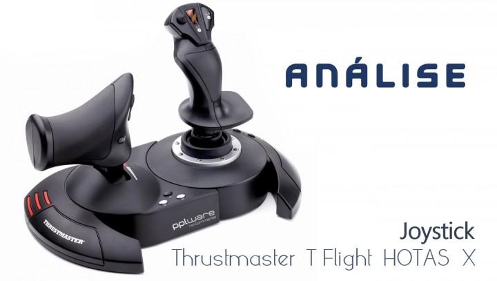 Análise ao Joystick Thrustmaster T-Flight HOTAS X
