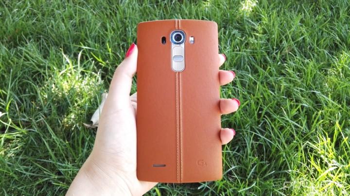 LG G4 - Capa traseira em pele