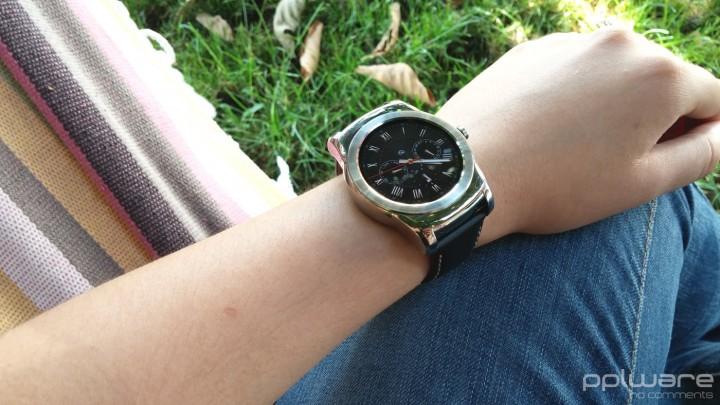 LG Watch Urbane - Mostrador