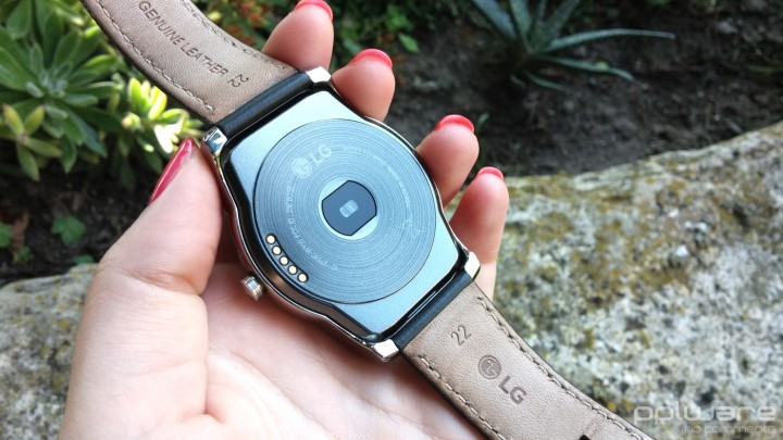 LG Watch Urbane - Sensor de batimentos cardíacos