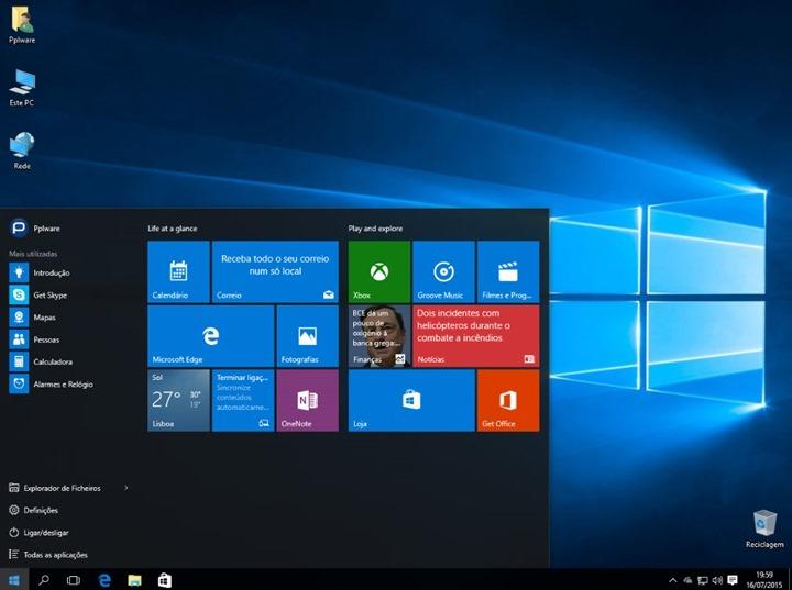 Imagem Windows 10