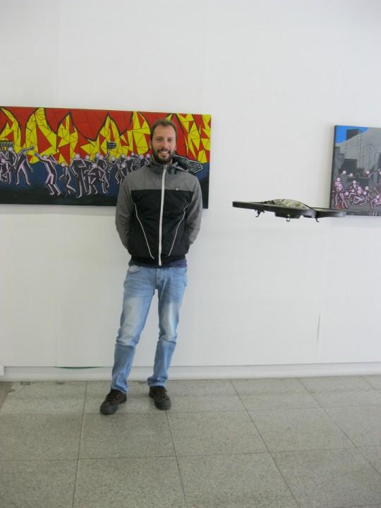 Vencedor Tiago Raposo