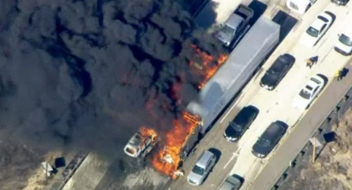 Drones ameaçam bombeiros