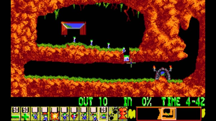 6e41467f7512c Lemmings foi um dos meus jogos preferidos de sempre… quem não se lembra dos  bonequinhos que caíam em grupos e