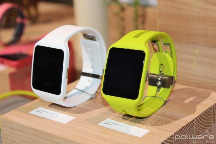 Smartwatches Sony na IFA 2015.