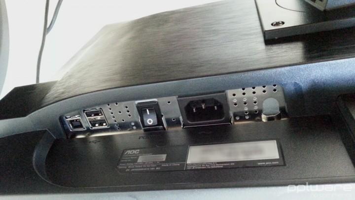 Monitor AOC - Portas1