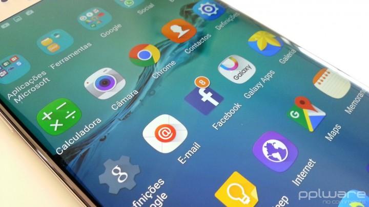 Samsung Galaxy S6 edge+ - Aplicações