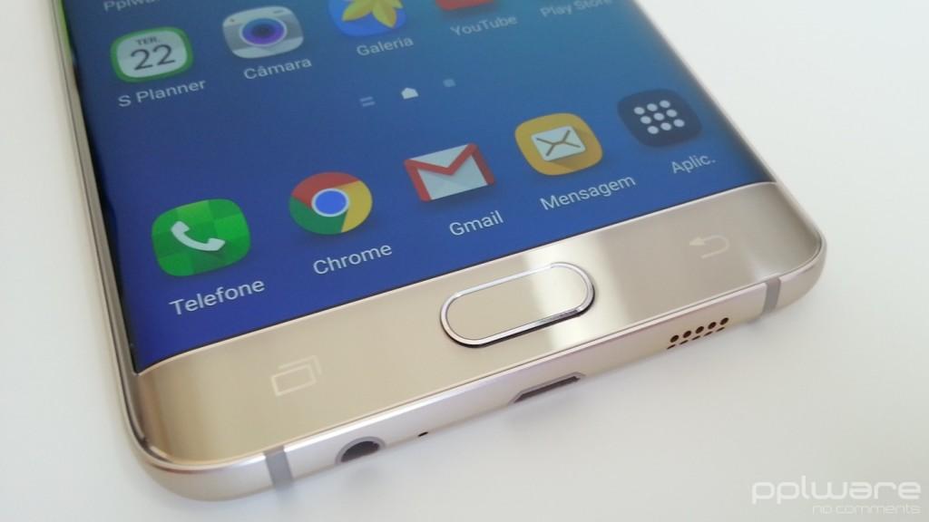 Samsung Galaxy S6 edge+ - Botões capacitivos
