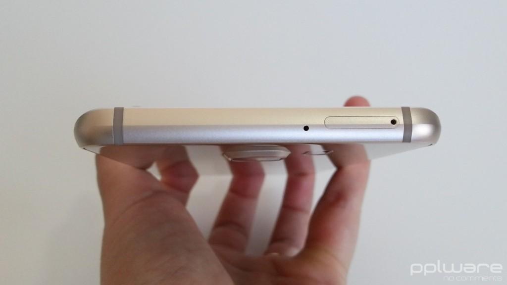 Samsung Galaxy S6 edge+ - Slot para cartão nano SIM