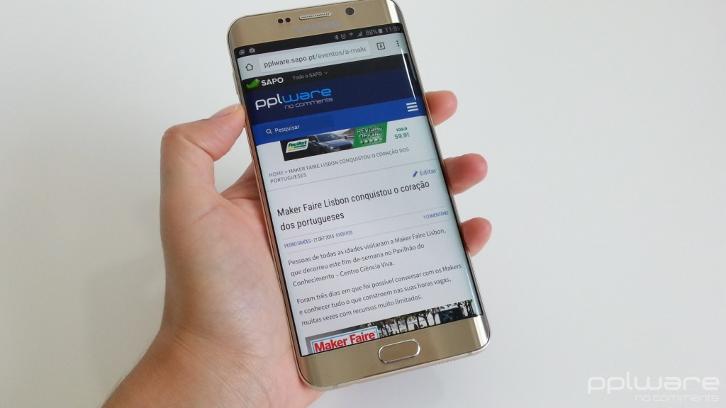 Samsung Galaxy S6 edge+ - ecrã 0