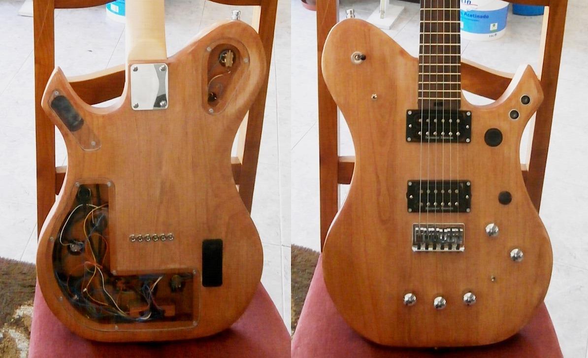 Sensi guitar um arduino integrado numa guitarra na