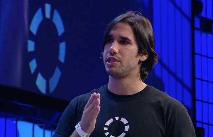 Jaime Jorge, fundador da Codacy, na Web Summit 2014
