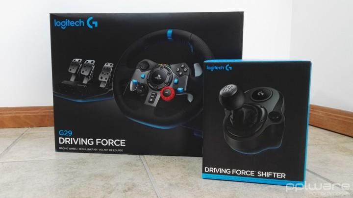 G29 - Driving Force - Box