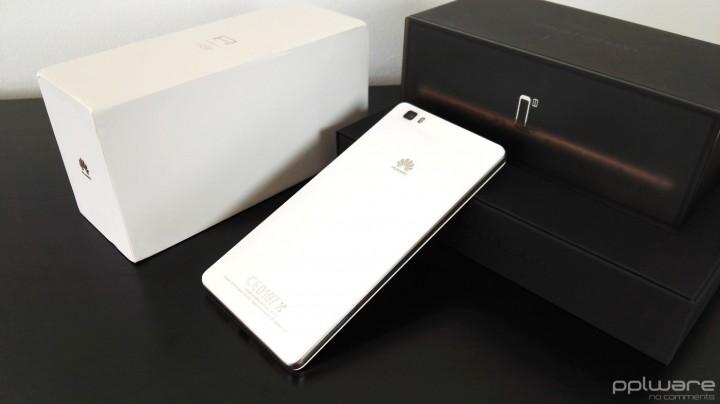 Huawei P8 lite - Traseira