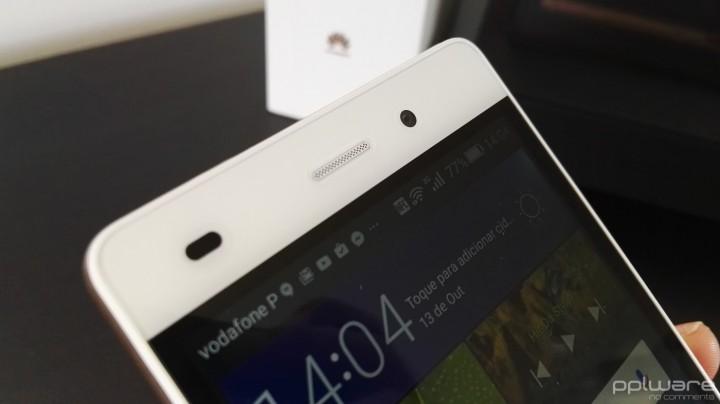 Huawei P8 lite - câmara frontal
