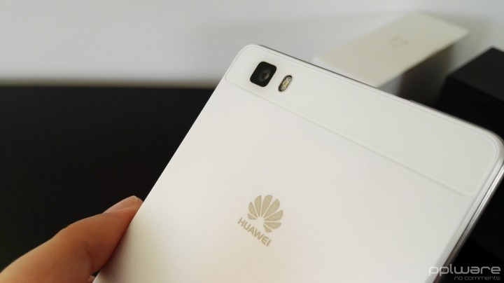 Huawei P8 lite - câmara traseira