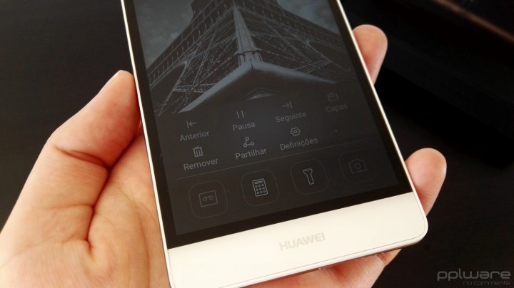 Huawei P8 lite - interface