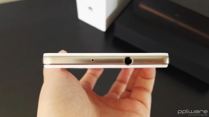 Huawei P8 lite - jack de áudio e microfone