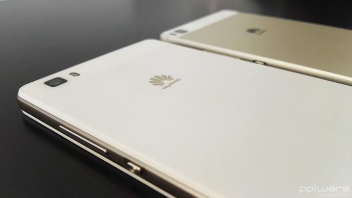 Huawei P8 lite vs Huawei P8 traseira