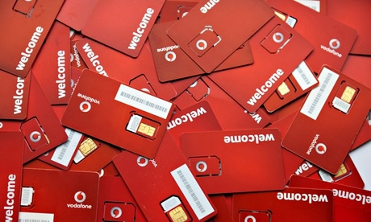how to get a replacement vodafone sim card
