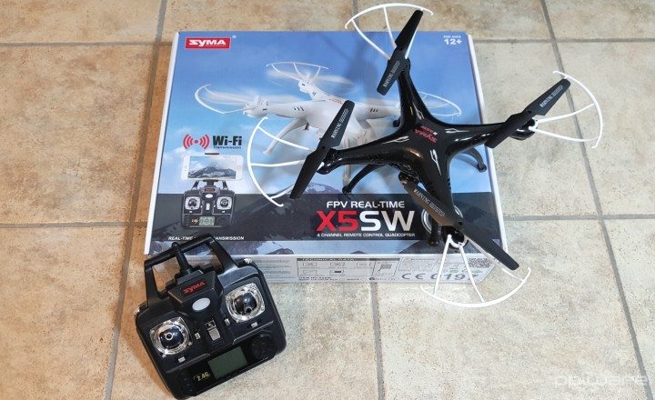 Drone Syma - Unboxing 0