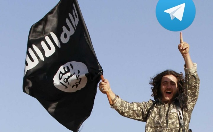 Telegram terroristas ISIS