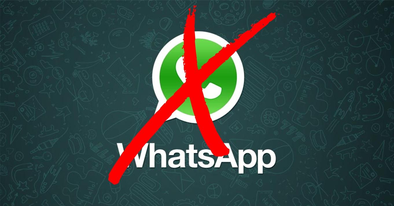 Resultado de imagem para WhatsApp não funcionará