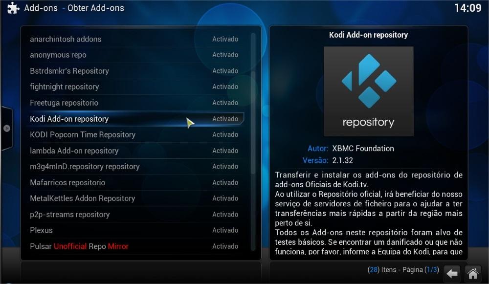 Kodi: Como configurar o serviço de legendas
