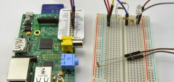 breadboard and pi web