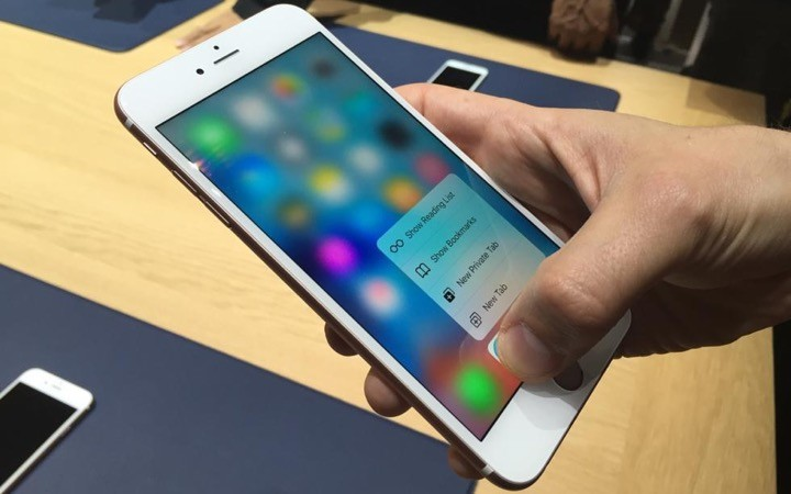 3D Touch Apple iPhone Barclays