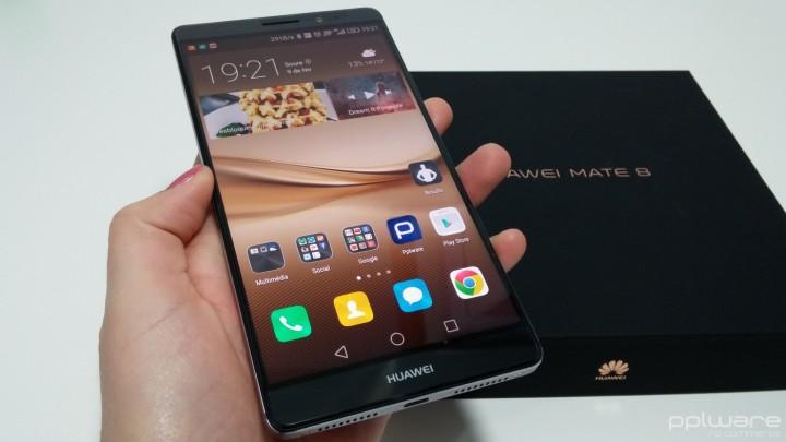 Huawei Mate 8 - interface