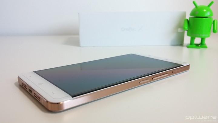 OnePlus X - Botões de volume e power
