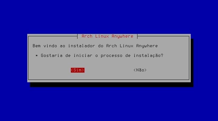 Arch Anywhere - É hoje que vai instalar o ArchLinux?