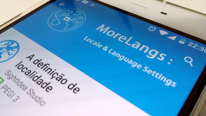 MoreLangs – Aprenda a adicionar uma língua ao seu Android