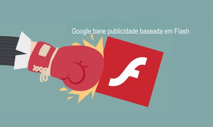 Google acaba com o Flash