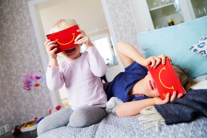 McDonalds oferece óculos VR juntamente com Happy Meal