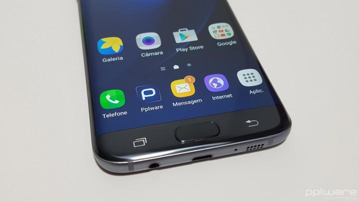 Samsung Galaxy S7 Edge - Botões capacitivos