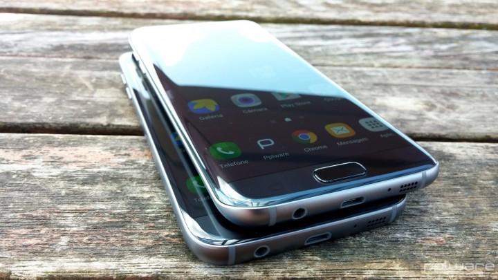 Samsung Galaxy S7 Edge - ecrã 1
