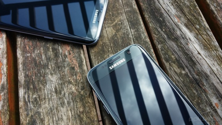 Samsung Galaxy S7 Edge - sensores e câmara frontal