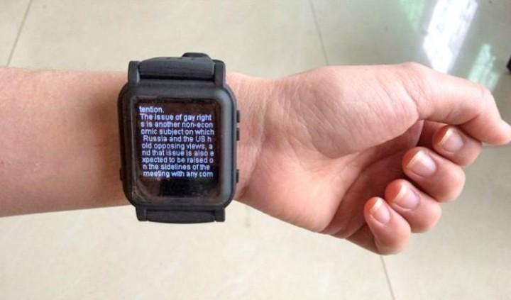 Smartwatches para copiar nos exames