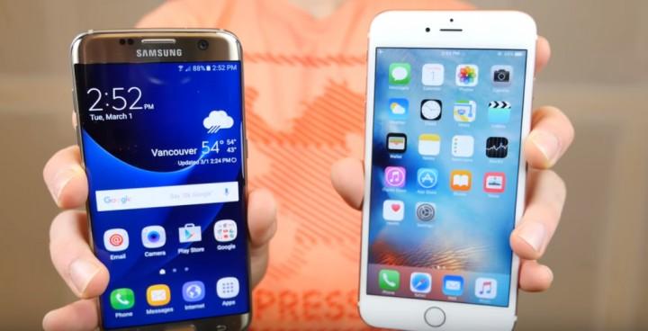 """iPhone 6s Plus """"arrasa"""" o novo Galaxy S7 no teste de velocidade"""