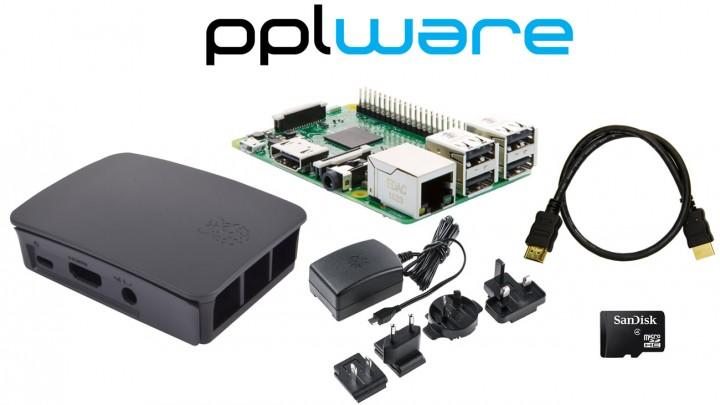 Pack económico PiPplware 5.1 + Raspberry PI 3