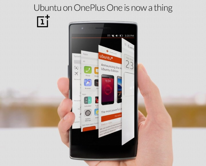 Ubuntu OS chega ao One Plus One