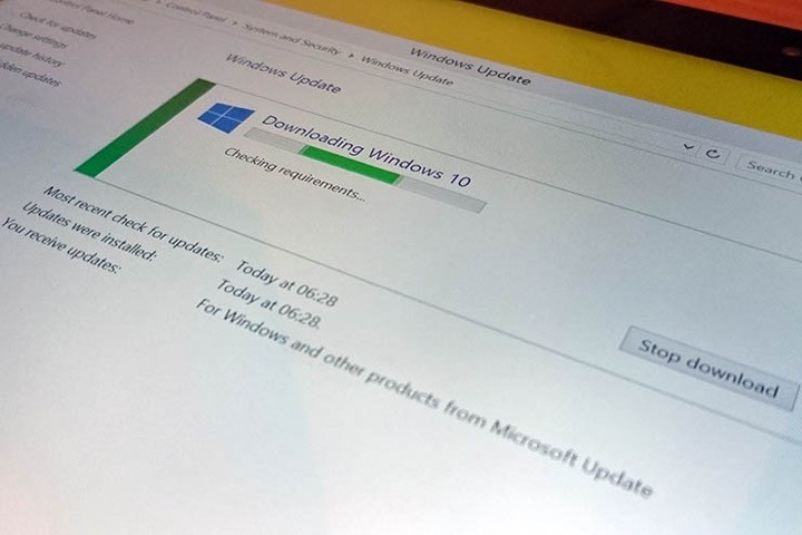 Windows 10 atualização problemas Microsoft
