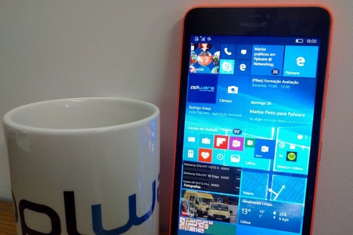 Windows 10 Mobile Pplware
